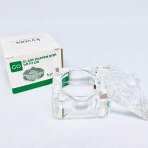 Glass dappen dish kozarec za tekočino