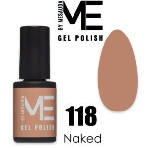 ME BY MESAUDA GEL-LAK NAKED 118 5ml