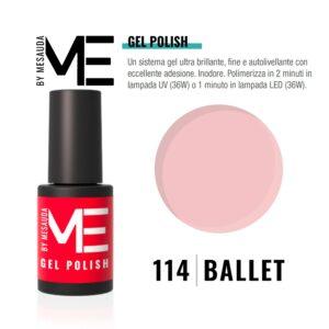 ME BY MESAUDA GEL-LAK BALLET 114 5ml