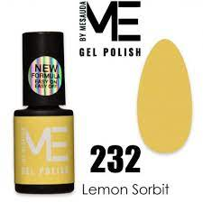 ME BY MESAUDA GEL-LAK LEMON SORBET 232 5ml